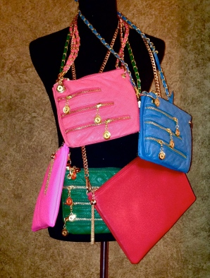 NYZ MODA Color Pop Bags