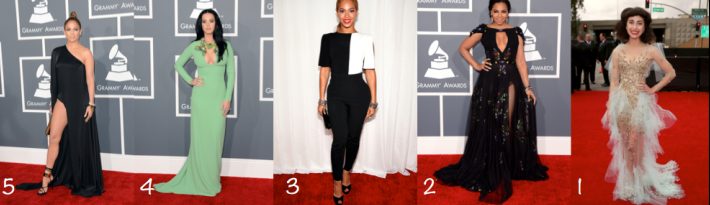 Grammy's Worst Dressed